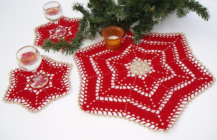 weihnachtsdeko selber basteln schneeflocken deko ideen schneeflocke hackeln bastelideen diy