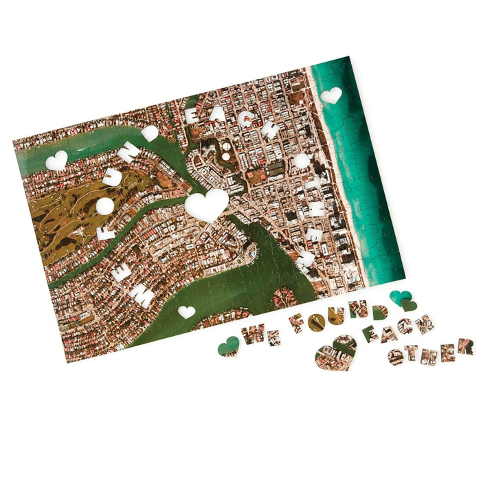 Weihnachtsgeschenk für den Freund, personalisiertes Puzzle zu Weihnachten schenken