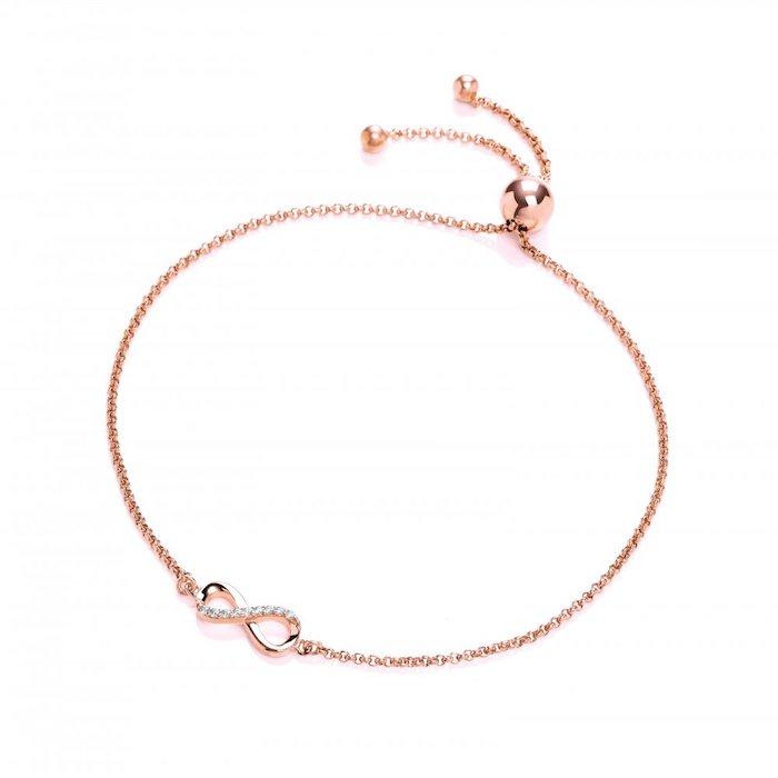 geburtstagsgeschenk beste freundin armband mit dem zeichen der ewigkeit steinen dekoelemente armband