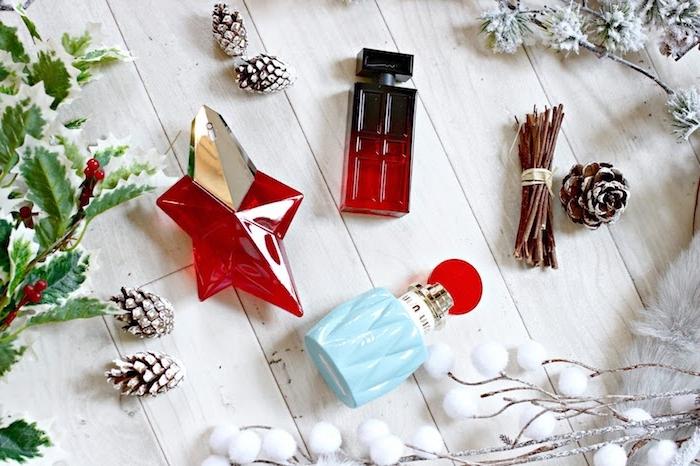 Danke sagen Geschenk - Fläschchen mit Parfume in ausgefallener Formen - Weihnachtenduft