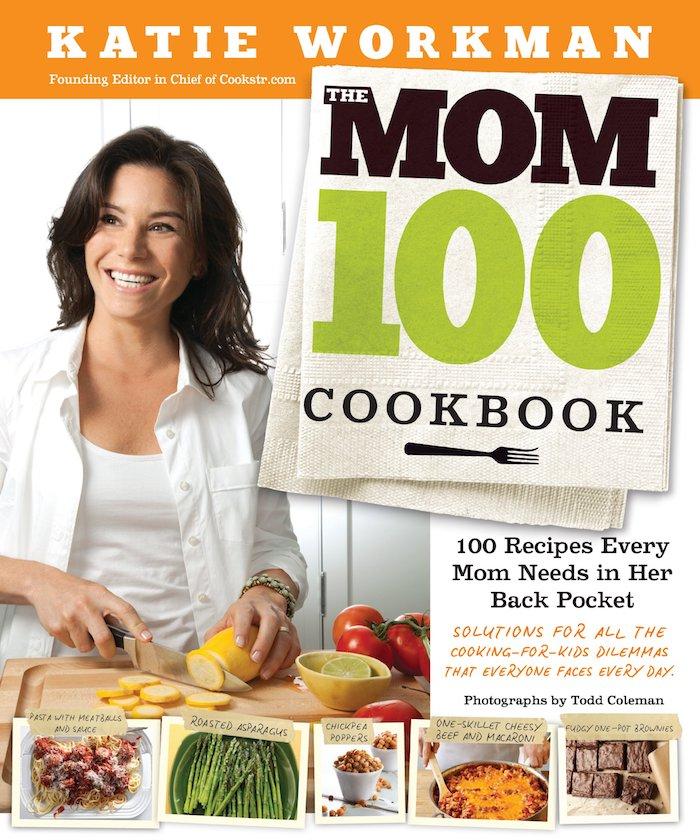 Danke sagen Geschenk - ein Kochbuch für Mütter von Katie Workman, Spargel Rezepte auf dem Umschlag
