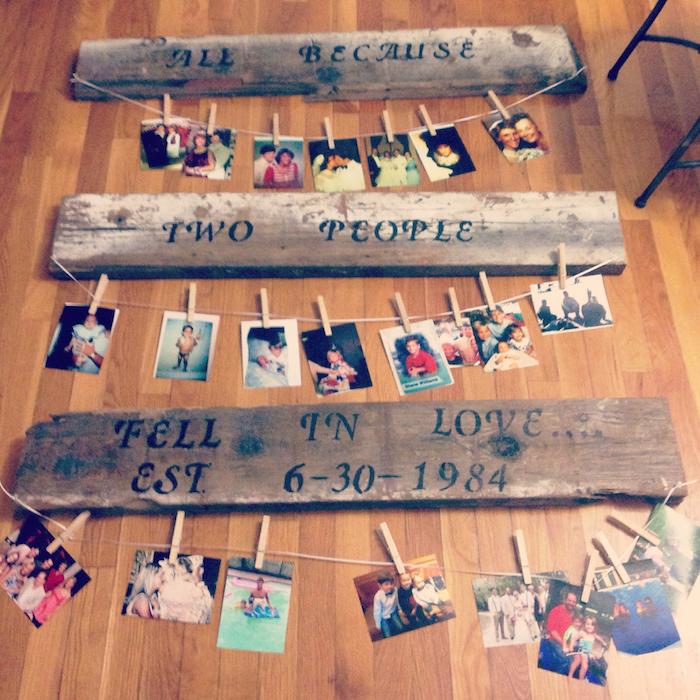 Danke sagen Geschenke - eine Familiengeschichte in Fotos zu Weihnachten
