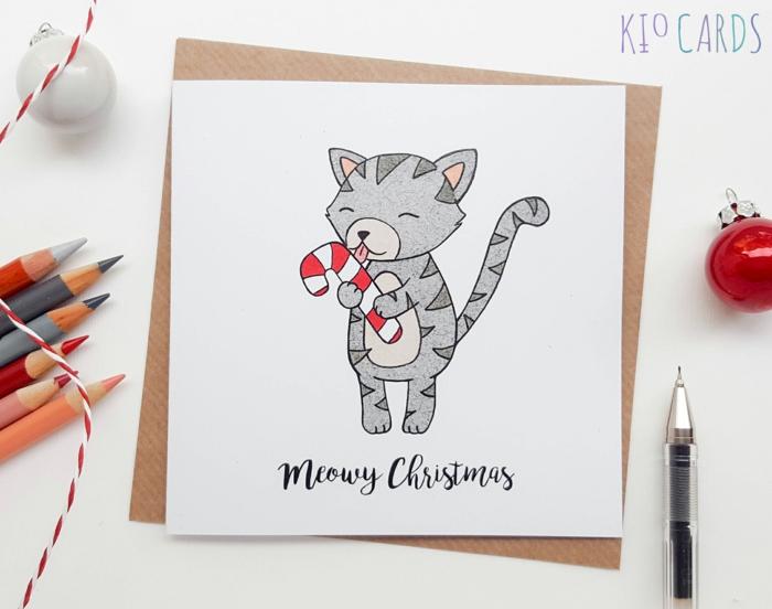 Weihnachtskarten Malen.1001 Ideen Zum Thema Weihnachtskarten Basteln