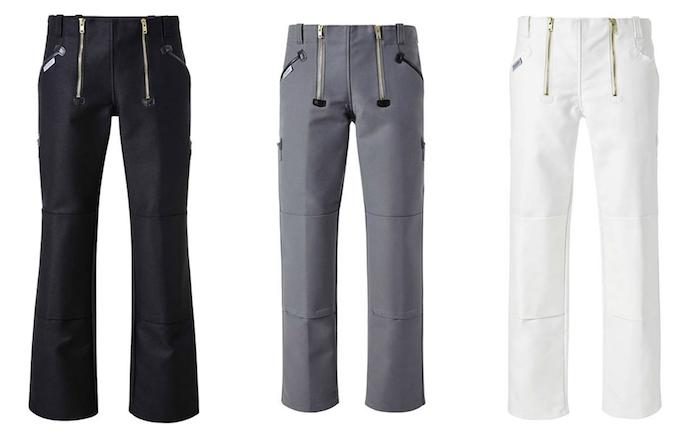 schwarze, weiße und graue moderne zunfthosen - schöne zunftbekleidung