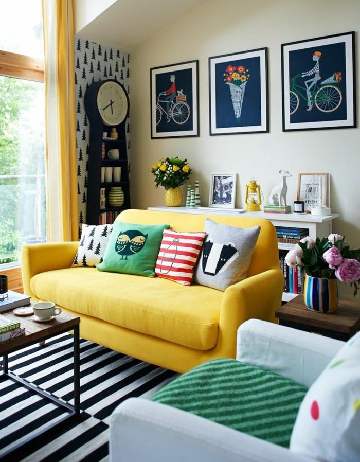 Wohnzimmer Einrichtung: So Wird Es Zu Hause Gemütlich | Einrichtungsideen  ...