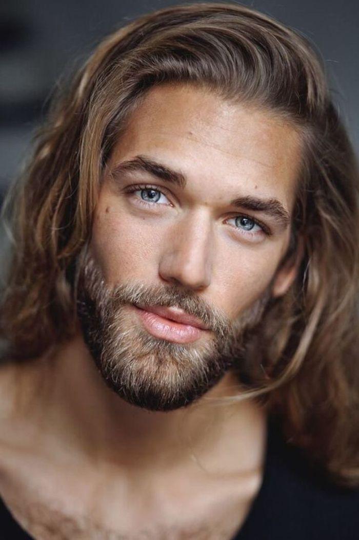 bart grau färben oder blond lange haare für männer bart bart pflegen richtige sorge