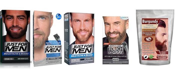 bart pflegen fünf bartfarben ideen für jeden mann und bart helle farbe blond schwarz braun rötlich
