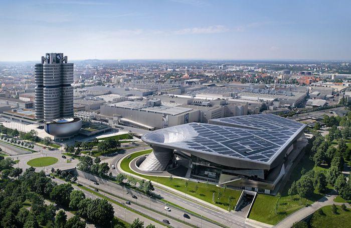 beliebte reiseziele bmw museum bmw tower moderne architektur und technologien autobau deutschland beste autos der welt wagen automarke bawarische motorwagen