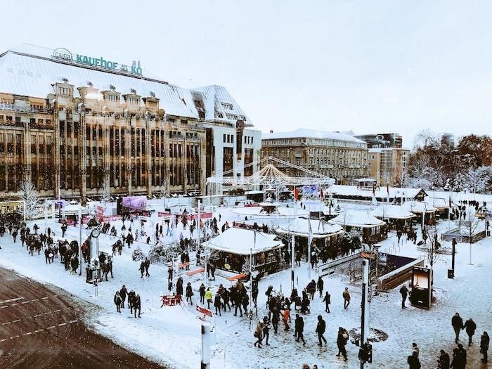 beliebteste urlaubsziele weihnachtsmarkt in den tag schöne ehemalige bilder von düsseldorf winter in deutschland