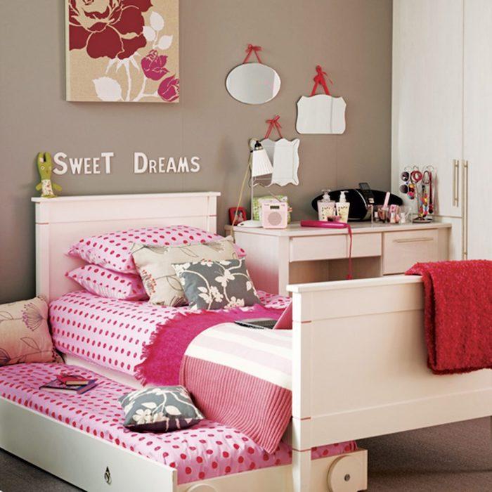 Großzügig Doppelbett Rahmen Für Mädchen Galerie - Benutzerdefinierte ...
