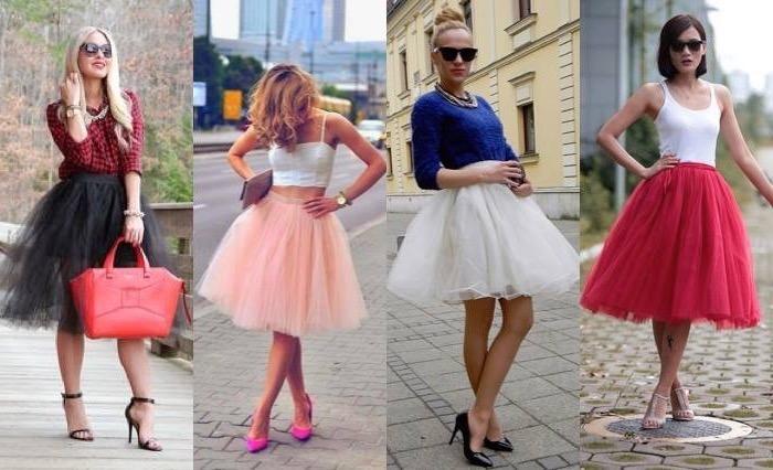 ballettkleid vier coole looks trendy frauen zeigen ihren einzigartigen stil ideen rote tasche