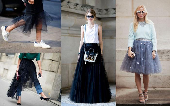 boho kleid lang bodenlänge grauer rock jeans absatzschuhe sneaker auffällige ideen