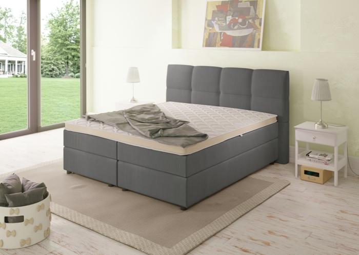 Mit Boxspringbett höchste Entspannung und Erholung im Schlafzimmer finden, hochqualitativ und haltbar