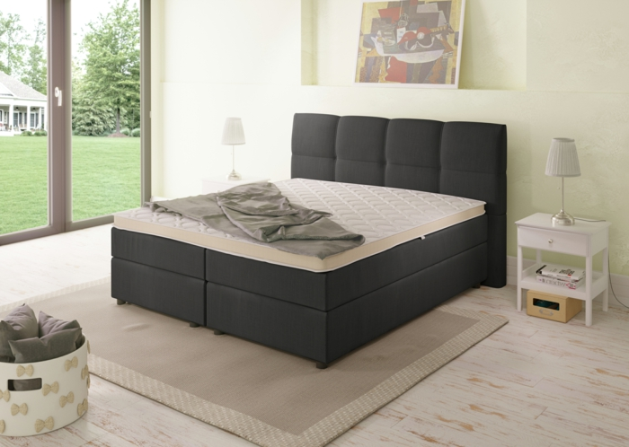 boxspringbett eine gute investition in gesundheit und lebensqualit t. Black Bedroom Furniture Sets. Home Design Ideas