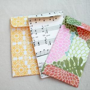 Briefumschlag basteln - Schicken Sie eine schöne Botschaft