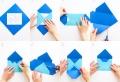 Briefumschlag basteln – Schicken Sie eine schöne Botschaft