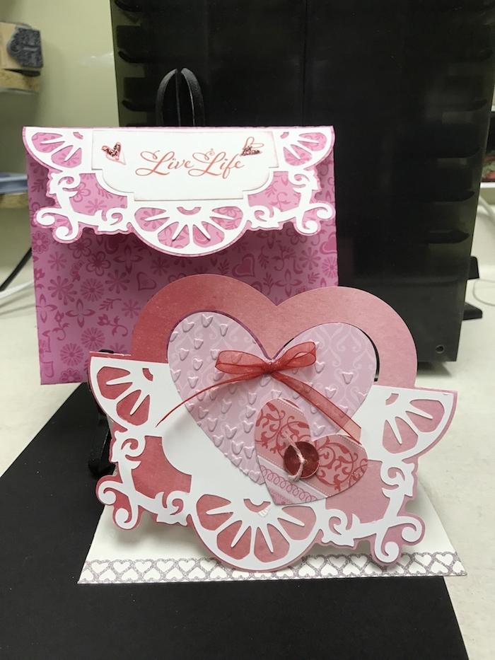 Briefumschläge basteln - überraschen Sie ihre Lieben mit einer Karte wie Herz