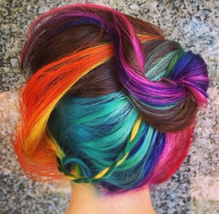 ▷ 16+ Ideen für bunte Haare. Bunte Haarfarben sind immer aktuell!