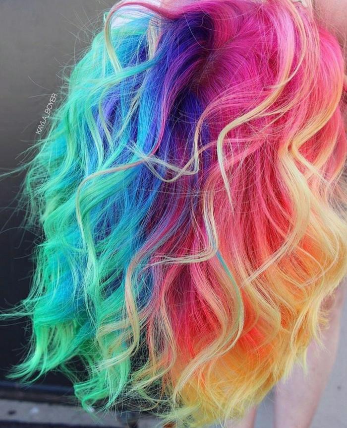 1001 Ideen Fur Bunte Haare Bunte Haarfarben Sind Immer Aktuell