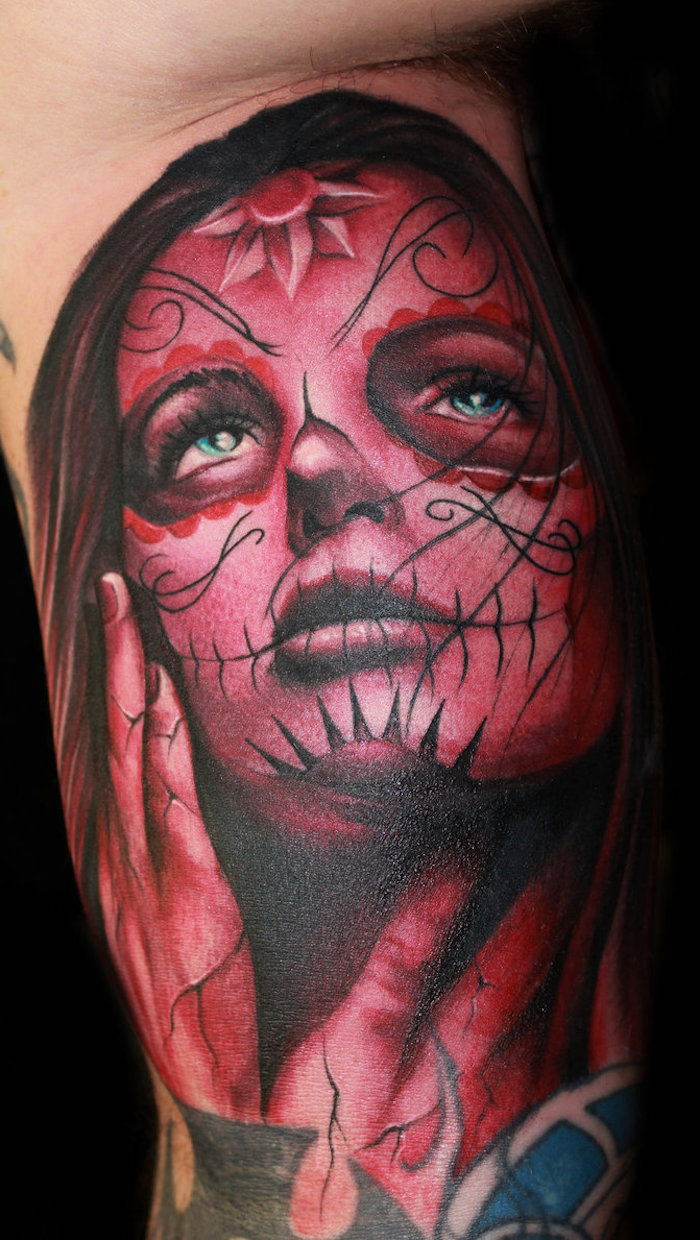 The Beautiful La Catrina Tattoo And Its Meaning Heandshelifestyle Com