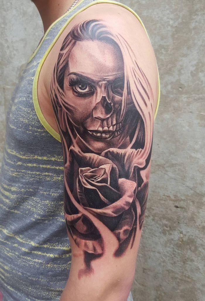 1001 Ideen Und Bilder Zum Thema La Catrina Tattoo