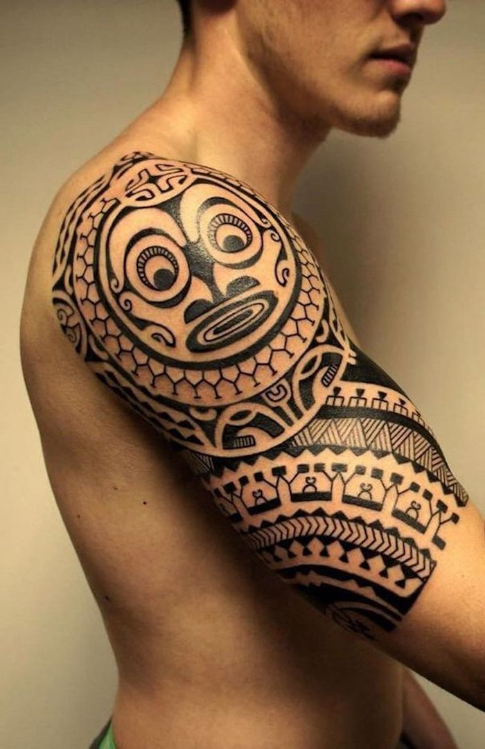 maori schulter tattoo top hallo gf ich hab mal wieder eine frage zu einem tattoo anfang maori. Black Bedroom Furniture Sets. Home Design Ideas
