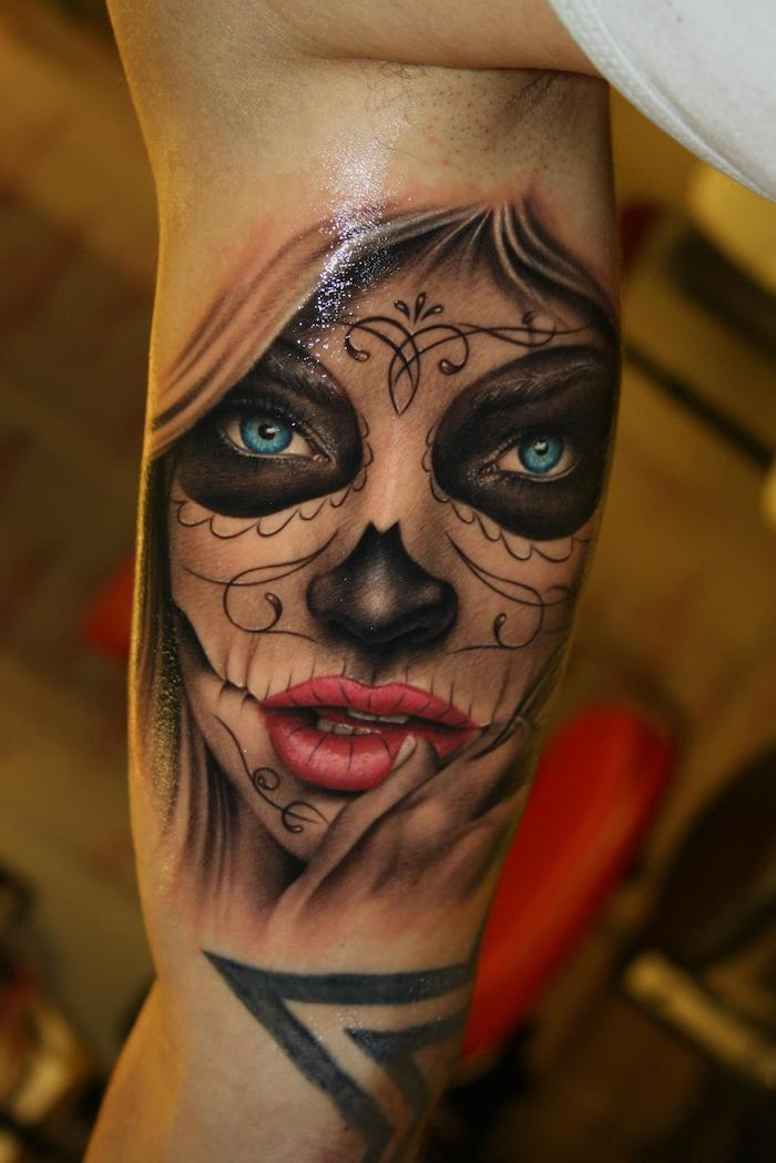 the beautiful la catrina tattoo and its meaning heandshelifestyle com. Black Bedroom Furniture Sets. Home Design Ideas