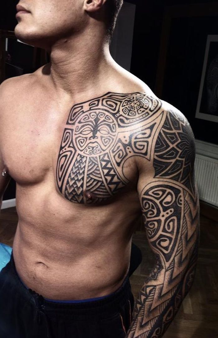 Maori Tattoo - 37 ideas and pictures!