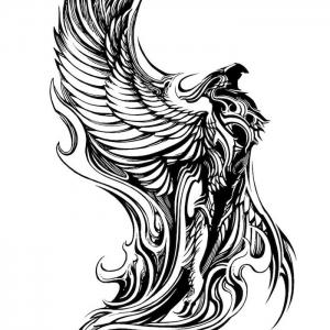 36 Bilder und Ideen zum Thema Phönix Tattoo!