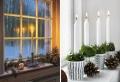 Fensterbank weihnachtlich dekorieren – spüren Sie die Magie von Weihnachten