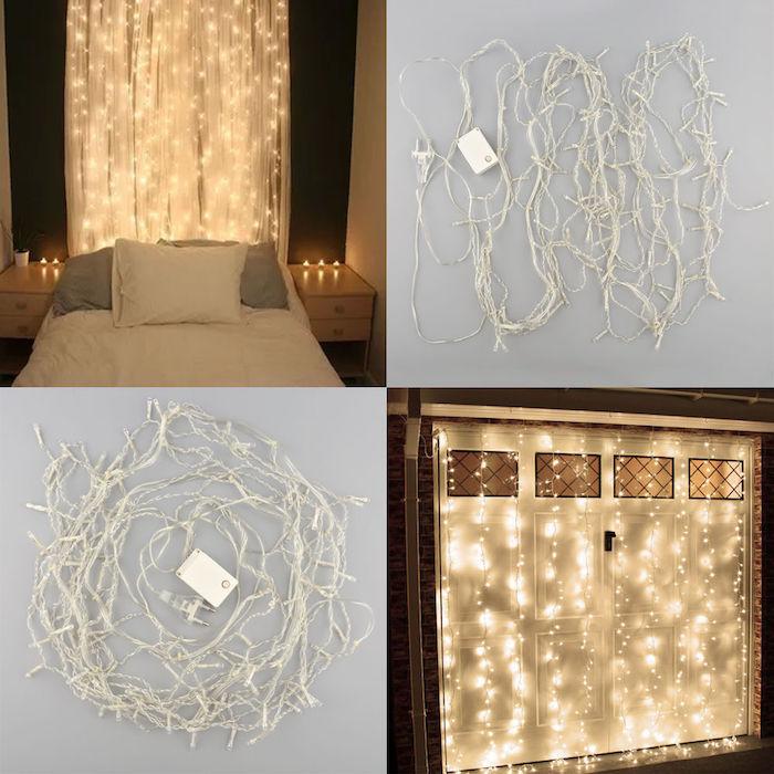 fensterdekolicher dekorieren und genießen schöne ideen lichtkette schlafzimmer wohnzimmer