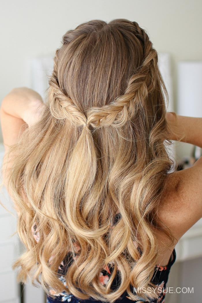 Frisuren fur festliche anlasse lange haare