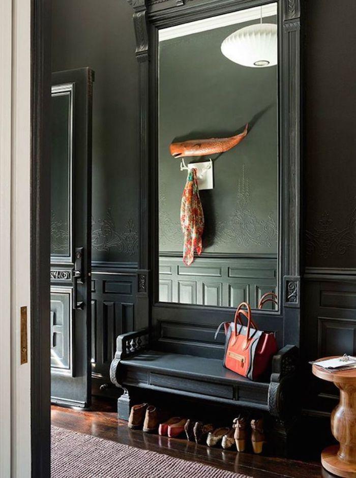 Wand Mit Spiegel Gestalten 1001 flur ideen zum auffrischen und neordnen