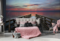 Fototapete im Schlafzimmer – bunte Träume und entzückende Einrichtung