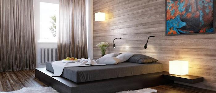 gemütliches flair in dem zuhause schlafzimmer deko ideen einrichten und genießen lampen design stehlampe leselampe