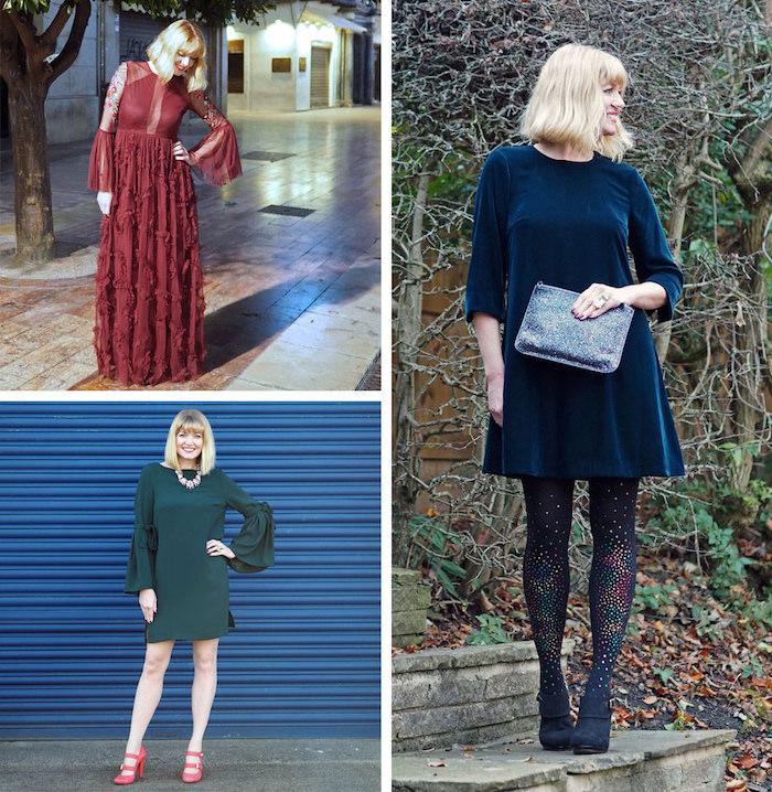 silvester outfits blogger drei ideen komfort und klasse zu silvester bequeme kleider schön aussehend