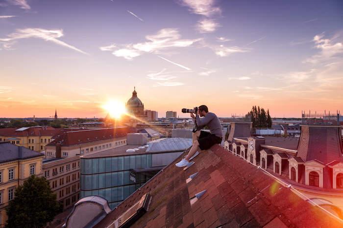 urlaubsziele europa deutschland leipzig bezaubernde stadt fotos früh am morgen machendächer besteigen