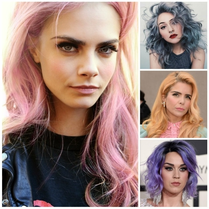 1001 ideen und inspirationen f r pastell haarfarbe. Black Bedroom Furniture Sets. Home Design Ideas