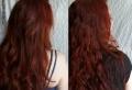 Rotbraune Haare – eine aufregende Farbentransformation