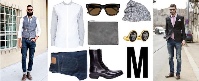 disco outfit mann idee hipster stil männer so chic und trendy in 2018 runde brille bart jeans hemd hut
