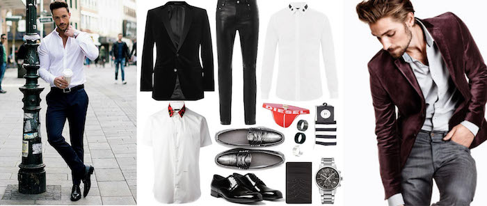 disco outfit mann hose hemd gürtel elegante schuhe und ein lächeln alles nötige zum perfekten look
