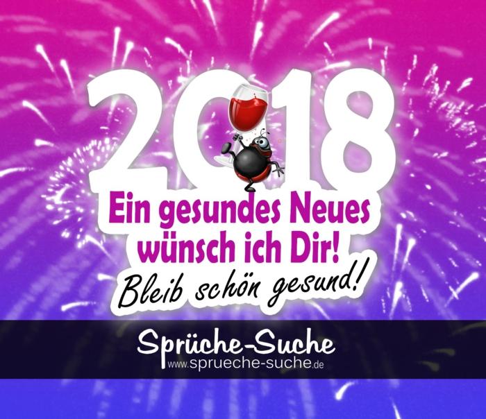 Ein gesundes neues Jahr wünsche ich Dir! Bleib schön gesund!