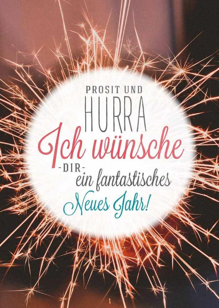 Prosit und Hurra, ich wünshe Dir ein fantastisches neues Jahr