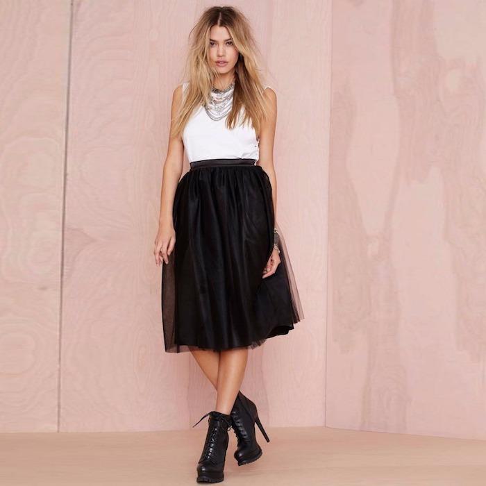 style damen wilder look trendy idee in 2018 schöne frau schwarz weißer look outfit ideen