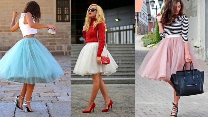 boho look ideen drei ausgefallene kombinationen outfits zum faszinieren blau weiß rot schwarz rosa alle farben