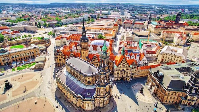 schöne urlaubsziele in deutschland dresden bilder zentrum schöne architektur ideen