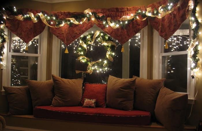 fensterbeleuchtung weihnachten licht in den dunklen abenden dezente dekorationen zu weihnachten