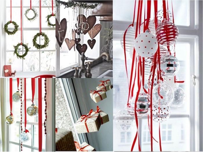 weihnachts fensterdeko mehrere ideen auf einmal schöne weihnachtliche fenstergestaltung ideen