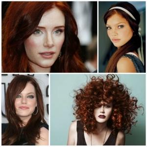 Rotbraune Haare - eine aufregende Farbentransformation