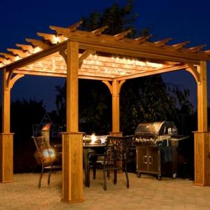 Pergola oder Terrassenüberdachung selber bauen - genießen Sie einen kühlen Sommer